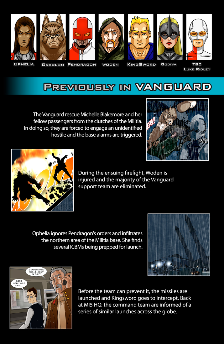 Previously in VANGUARD…