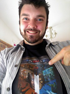 @VanguardComic here you go dude! #ShamelessSelfie #ImLikeGerradButlerNow