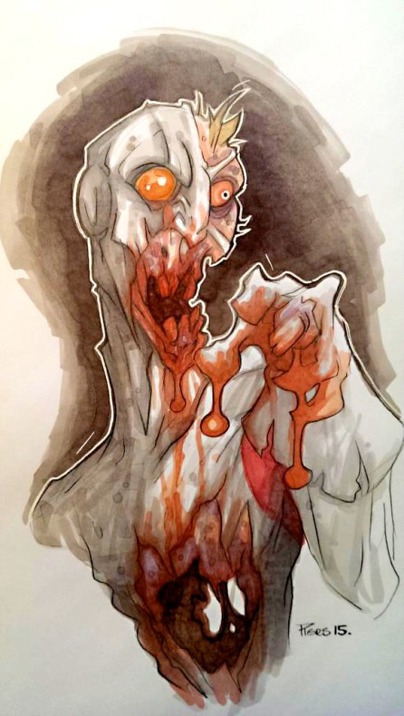 Spitfire Zombie