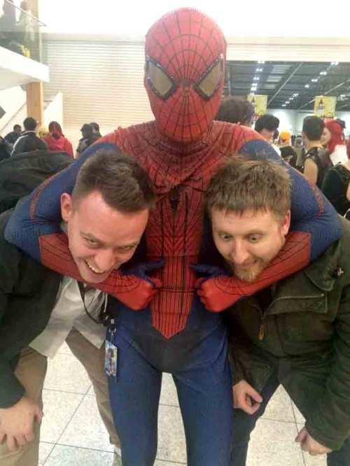 Spiderman LSCC dan Butcher vince Hunt