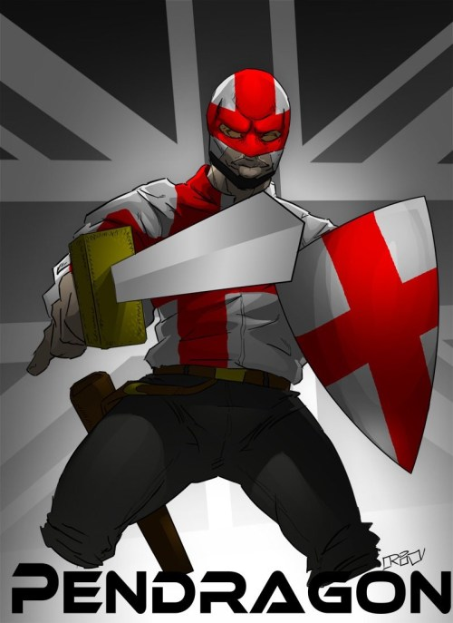 Pendragon Shane Rivett Heroes of the world and beyond