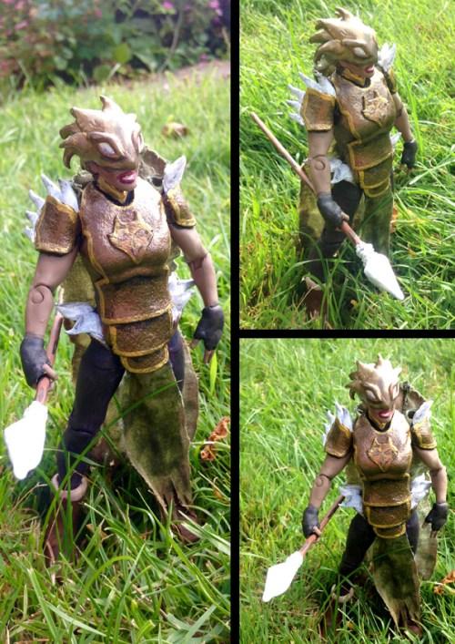 Jordana Wolfshead Action Figure
