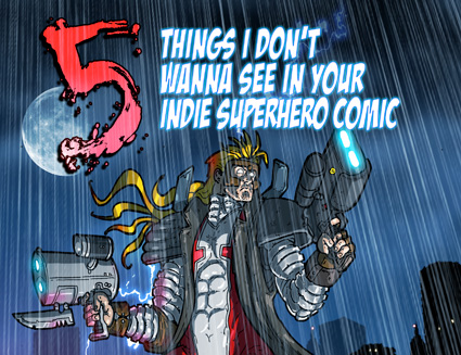 Five things superhero comic