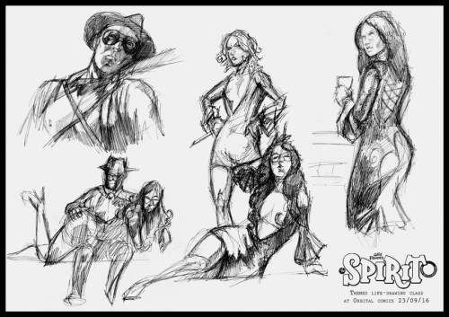 Dan Life drawing