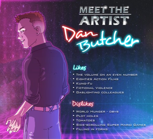 Dan Butcher Meet the artist