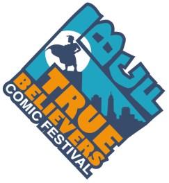 true believers comic con logo
