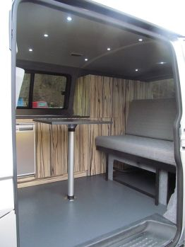 Campervan Table with Fiamma Leg Kit
