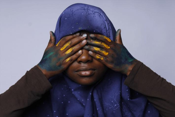 window to the soul, Khadijah Amatur-Raheem, age 17