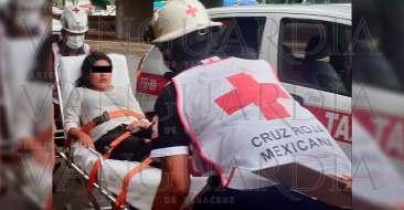 Lesionadas-en-colisión-de-taxis,-en-Poza-Rica-4