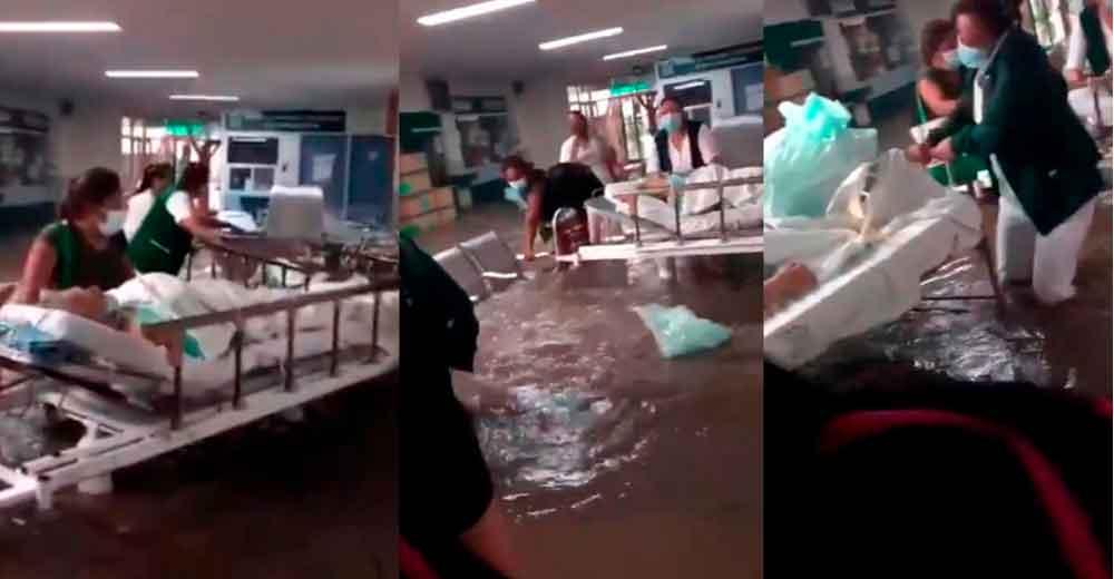 Mueren 16 pacientes tras inundación de hospital en Tula