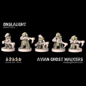 Avian Ghost Walkers