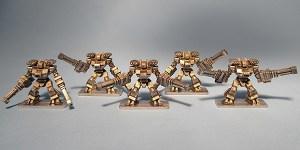 Raiju Heavy Assault Rigs