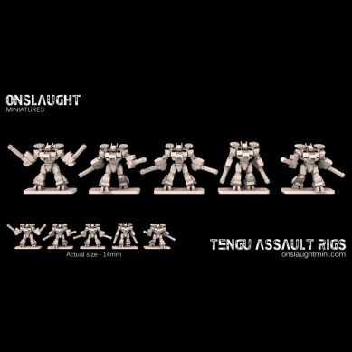 Tengu Assault Rigs