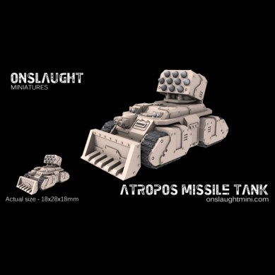 Atropos Rocket Tanks