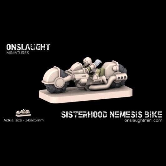 Star Wars - Les figurines - Page 2 Sisterhood_nemesis_bike11