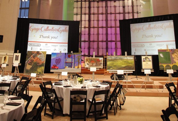 2015 Gage Collector Gala Art Auction & Benefit