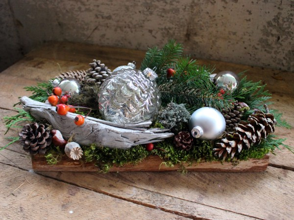 Ocean Inspired Christmas tablecentre