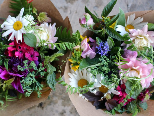 Seasonal Handtied bouquet subscriptions