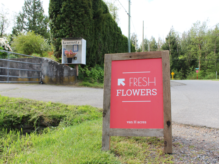 South Langley Flower Stand