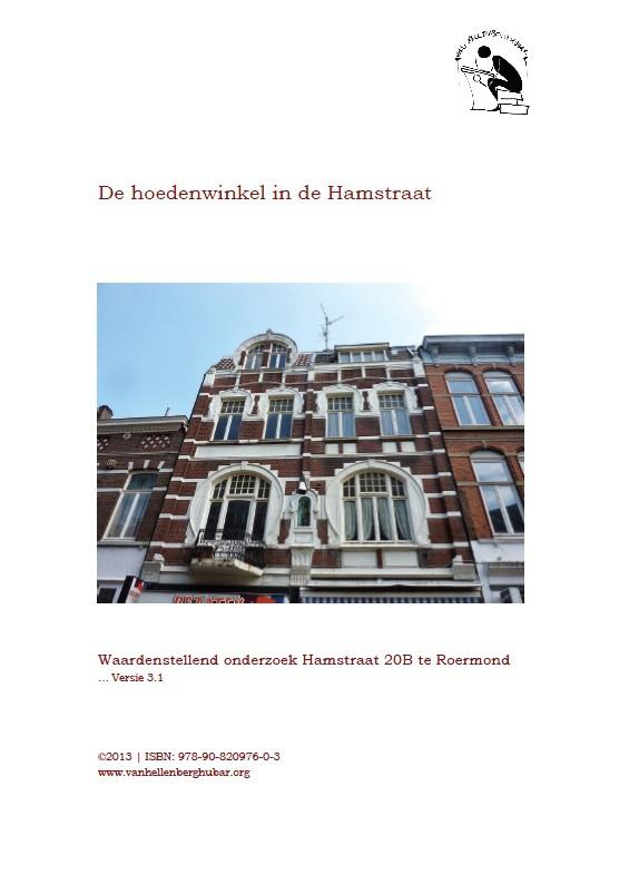 De hoedenwinkel in de Hamstraat van Roermond