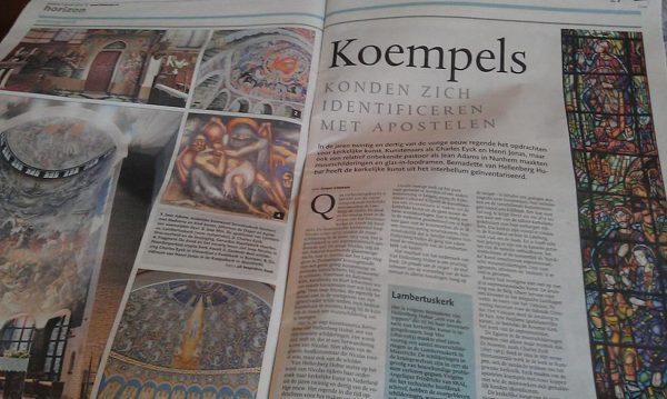Recensie van 'De genade van de steiger' in Dagblad De Limburger van Caspar Cillekens. Foto bvhh.nu 2013.