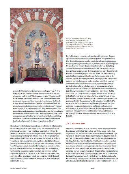 Heilig Hart schildering Matthieu Wiegman in de Obrechtkerk te Amsterdam uit 'De genade van de steiger' (2013). Screenshot bvhh.nu 2014.