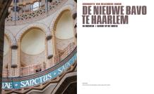 Titelblad van 'De nieuwe Bavo te Haarlem, Ad Orientem | Gericht op het oosten' (2016)