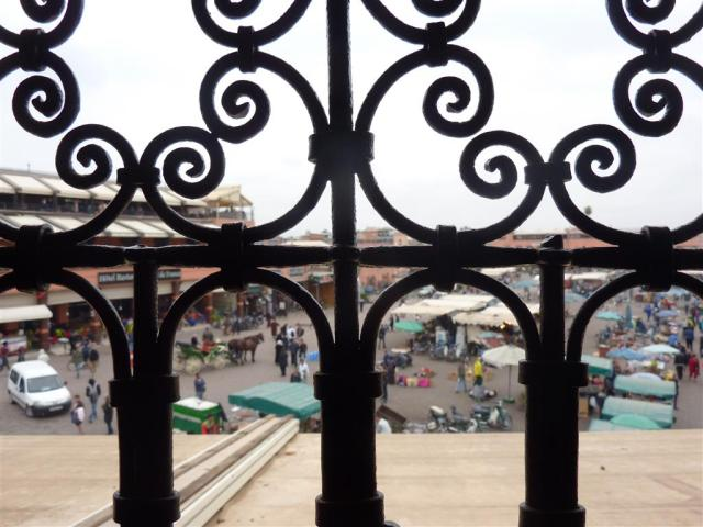 Place Djemaa el Fna in Marraksh