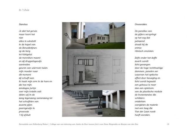 Klik om te vergroten! Mamelis revisited | Gedichtenbundel 'In 't Zuie', Kunst der Vormen, Raar mei 2010, p. 19.