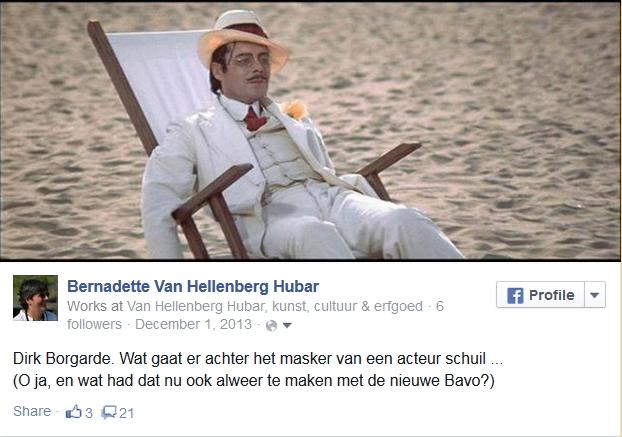 Ruskin Dirk Bogarde mooiste erfgoedverhaal