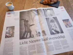 Bundels licht: Niels Polak en Joseph Cuypers in de nieuwe Bavo.