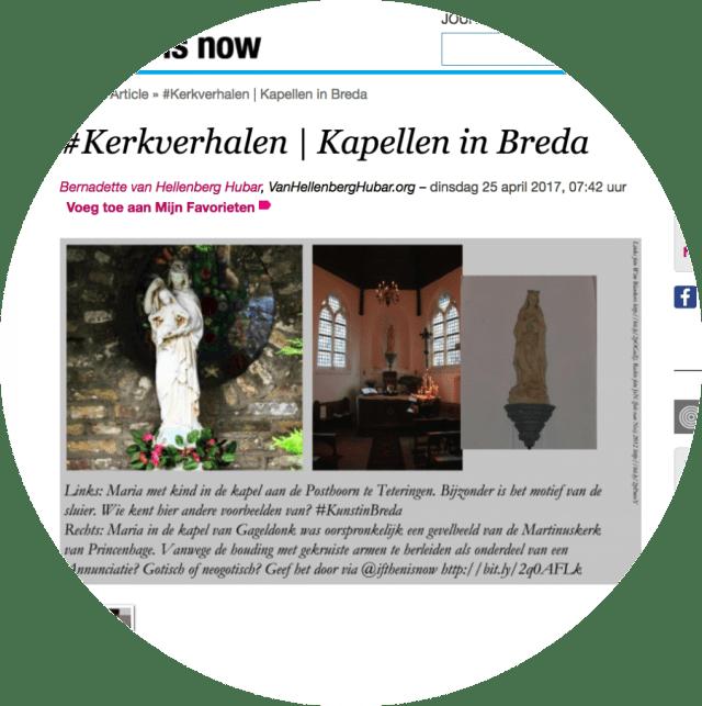 #Kerkverhalen | Kapellen in Breda op ifthenisnow.eu