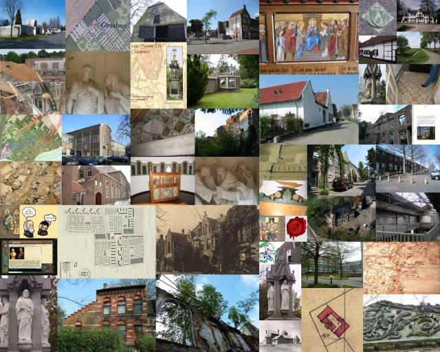 Collage van enkele items uit de portfolio van Res nova