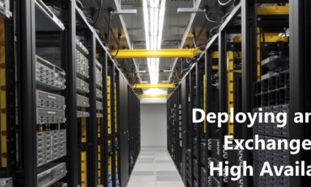 """Deploying and Managing Exchange Server 2013 High Availability"" ebook is now available!"