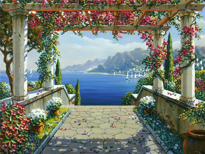 Il mondo di Mary Antony Robert Pejman  paesaggistica