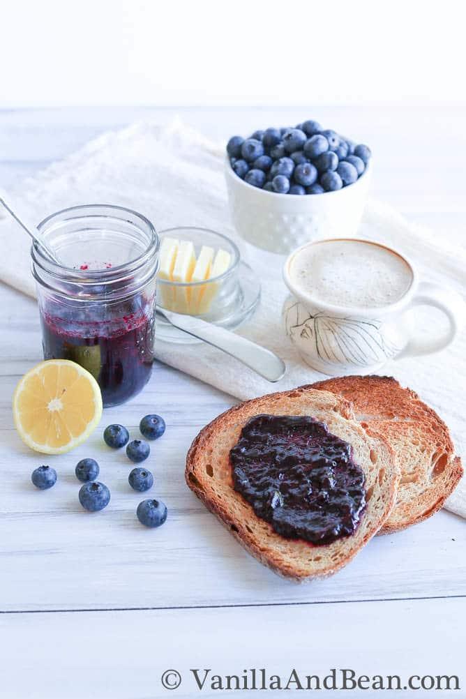 Blueberry Jam Recipe