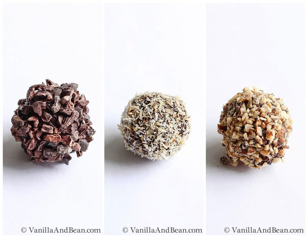 Chocolate Bon Bon Recipe - three kinds