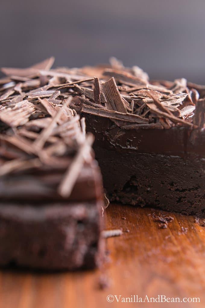 Chocolate Decadence | VanillaAndBean.com #GlutenFree #Recipe #Valentines