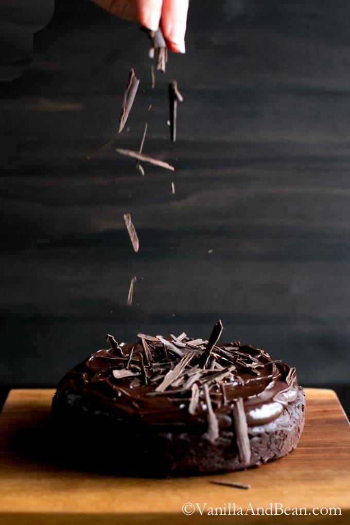 Chocoalte Decadence | VanillaAndBean.com #GlutenFree #Valentines #Recipe