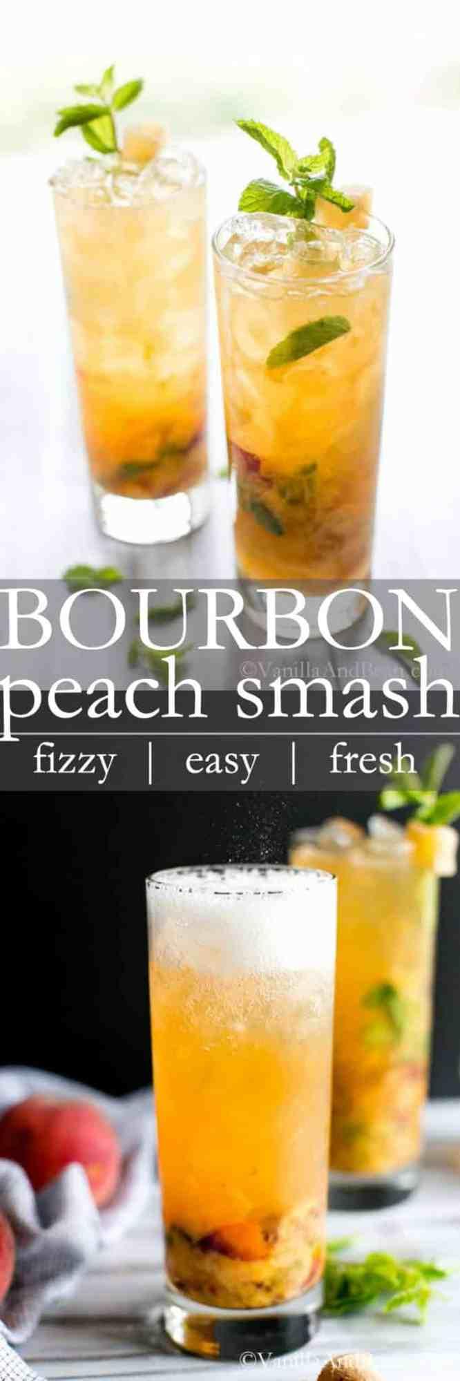 Bourbon Peach Cocktail