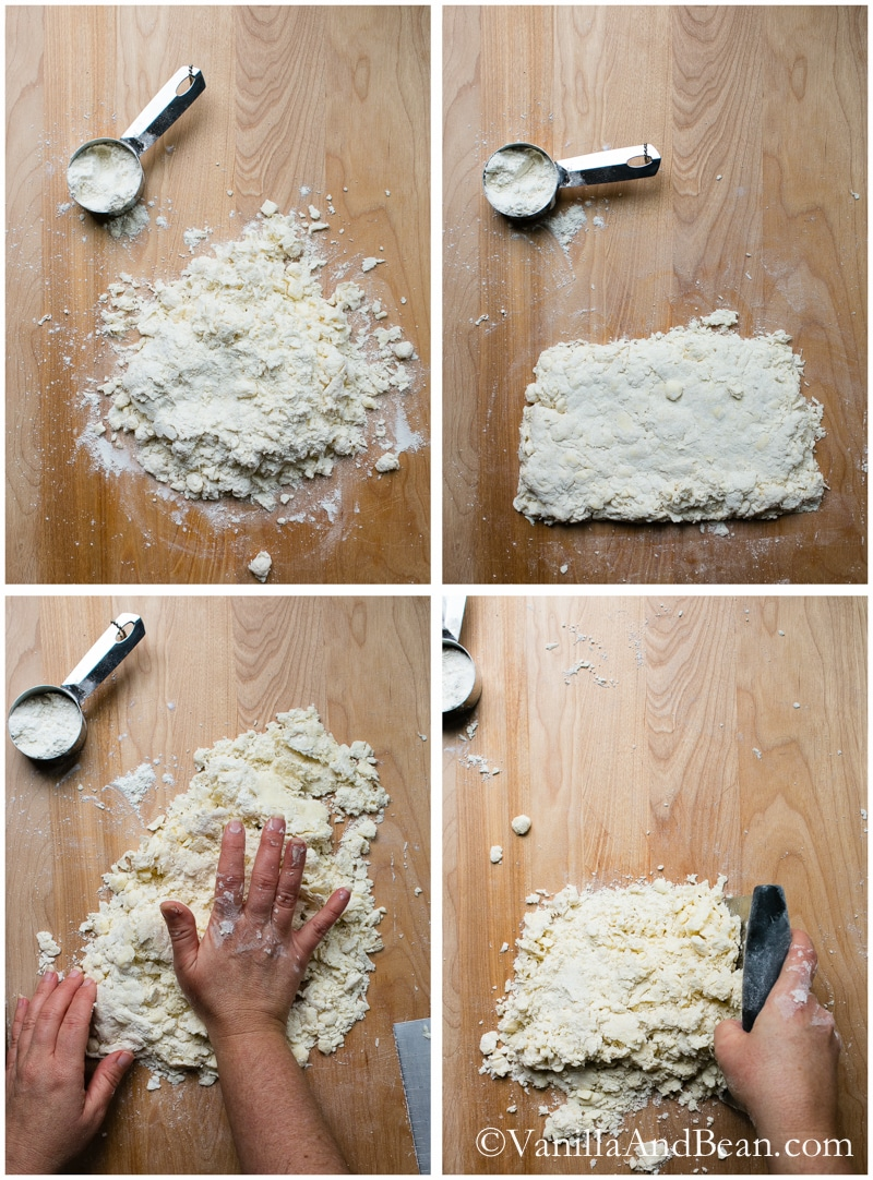 All Butter Buttermilk Pie Dough and tutorial for rolling out dough and blind (par) baking a crust | Vanilla And Bean
