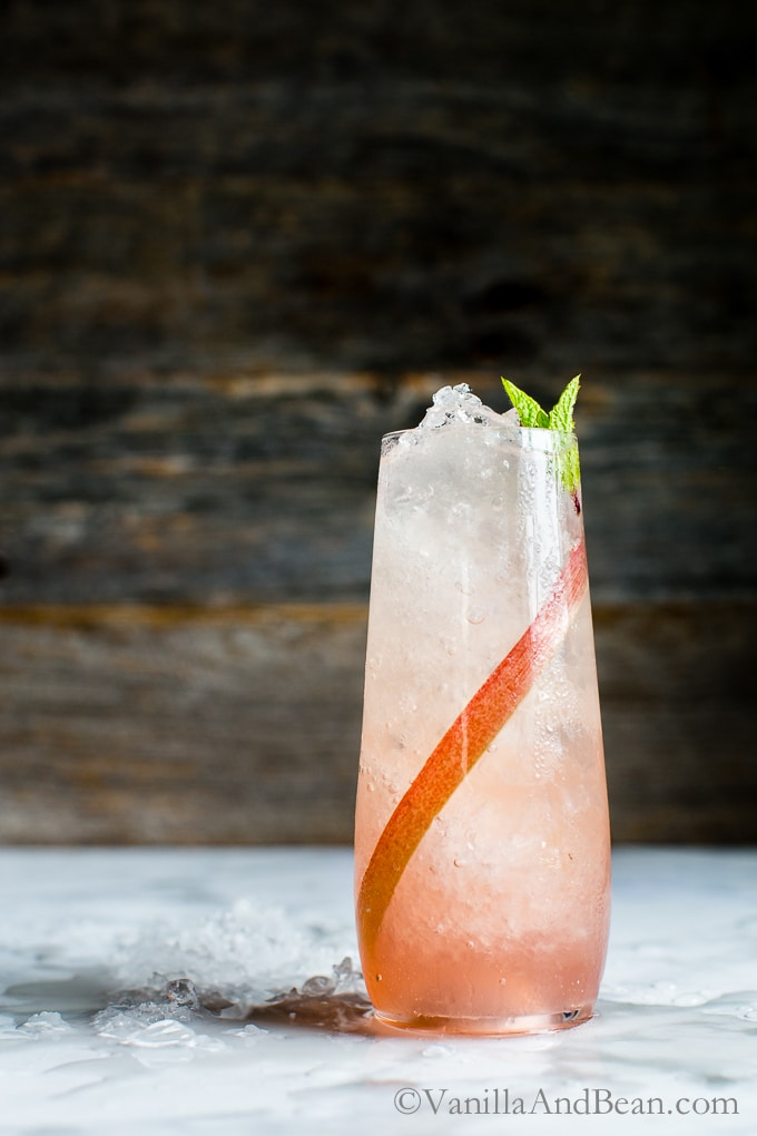 Versatile, simple and oh so refreshing, Lemongrass-Ginger Rhubarb Soda is easy to make using the freshest farmers market finds! vegan + gf
