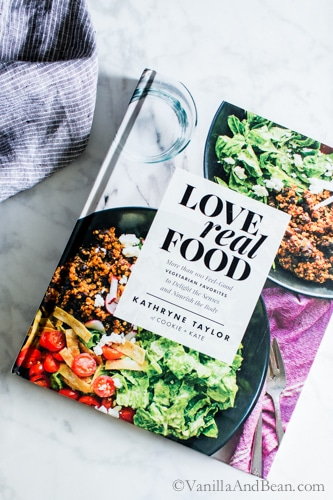 Snapshot of from Kathryne Taylor's new cookbookLove Real Food