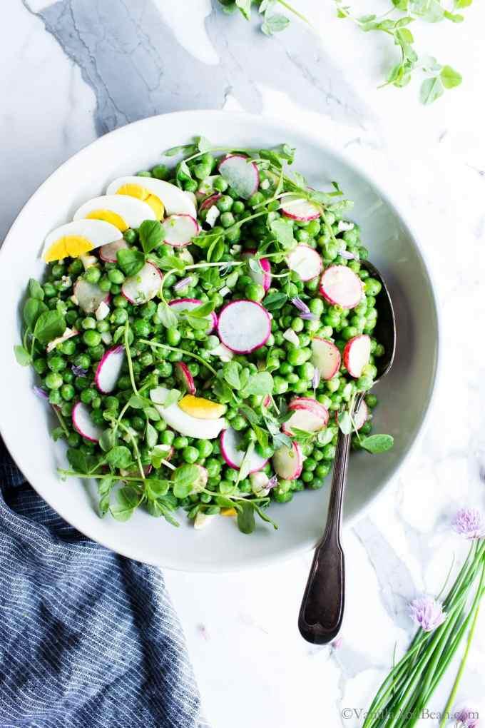 Healthy Pea Salad