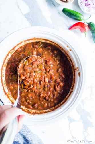 Vegetarian Chili Crock Pot