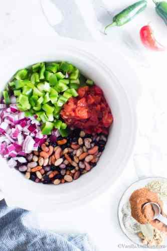 Crock Pot Vegan Chili