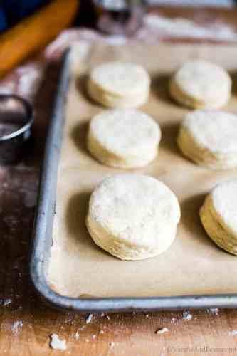 Fresh Cut Sourdough Biscuits