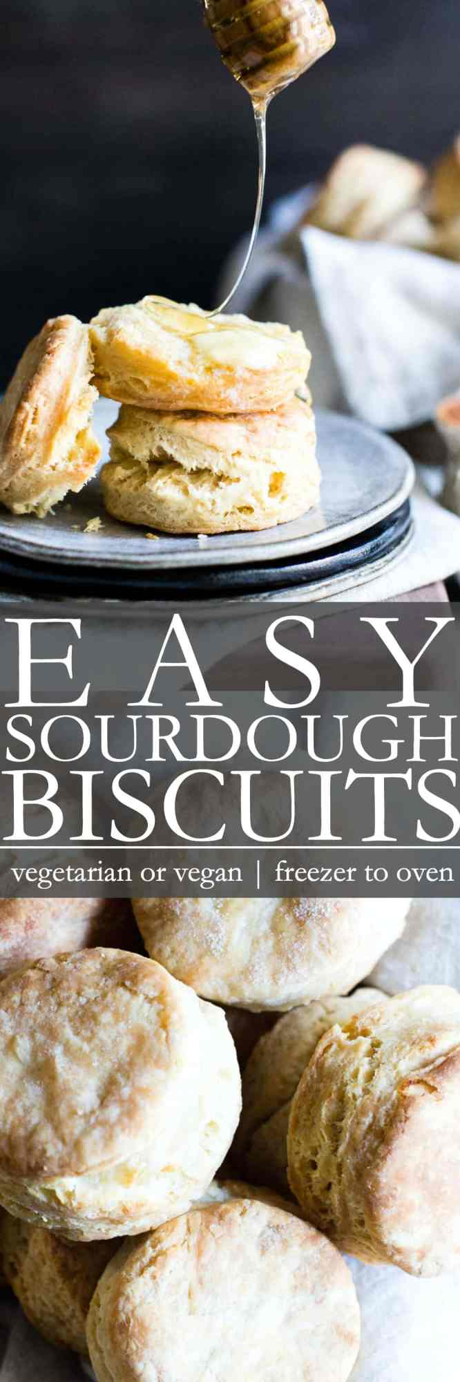 how to make sourdough biscuits