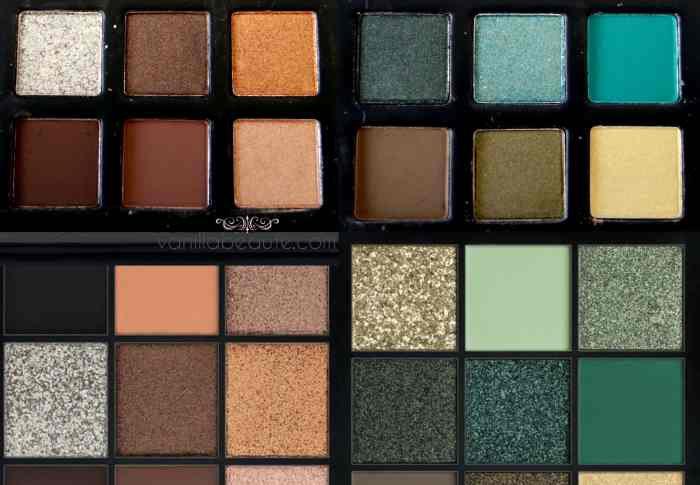Dupes : Obsessions Palettes Huda Beauty / Technic Cosmetics