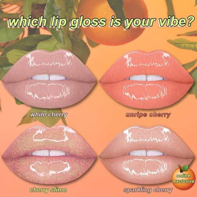 gloss limecrime wet cherry